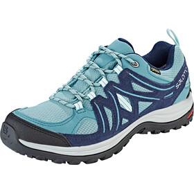 Salomon Ellipse 2 GTX Shoes Dame trellis/navy blazer/eggshell blue